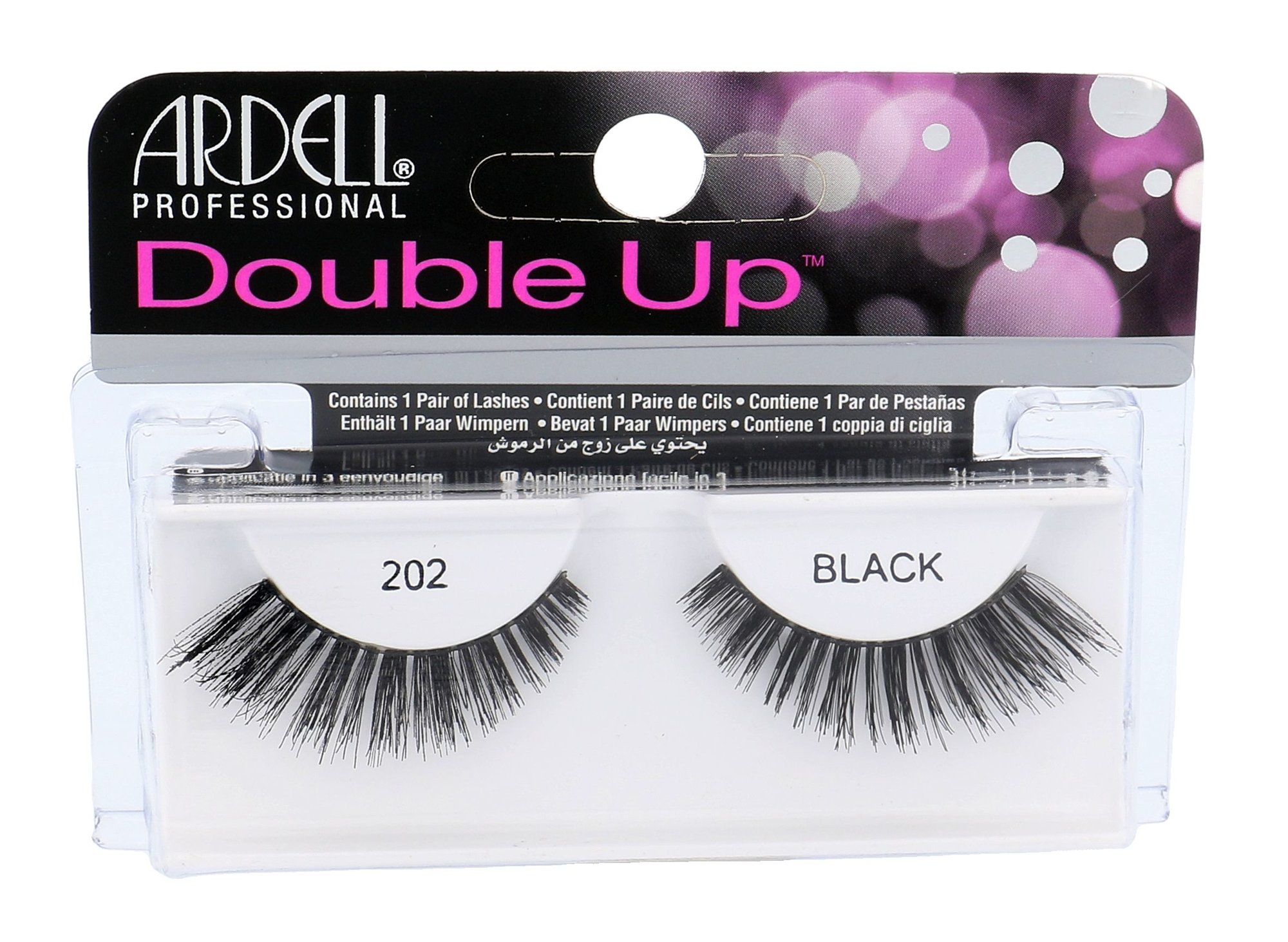 Ardell Double Up 202 Wispies Cosmetic 1ks Black