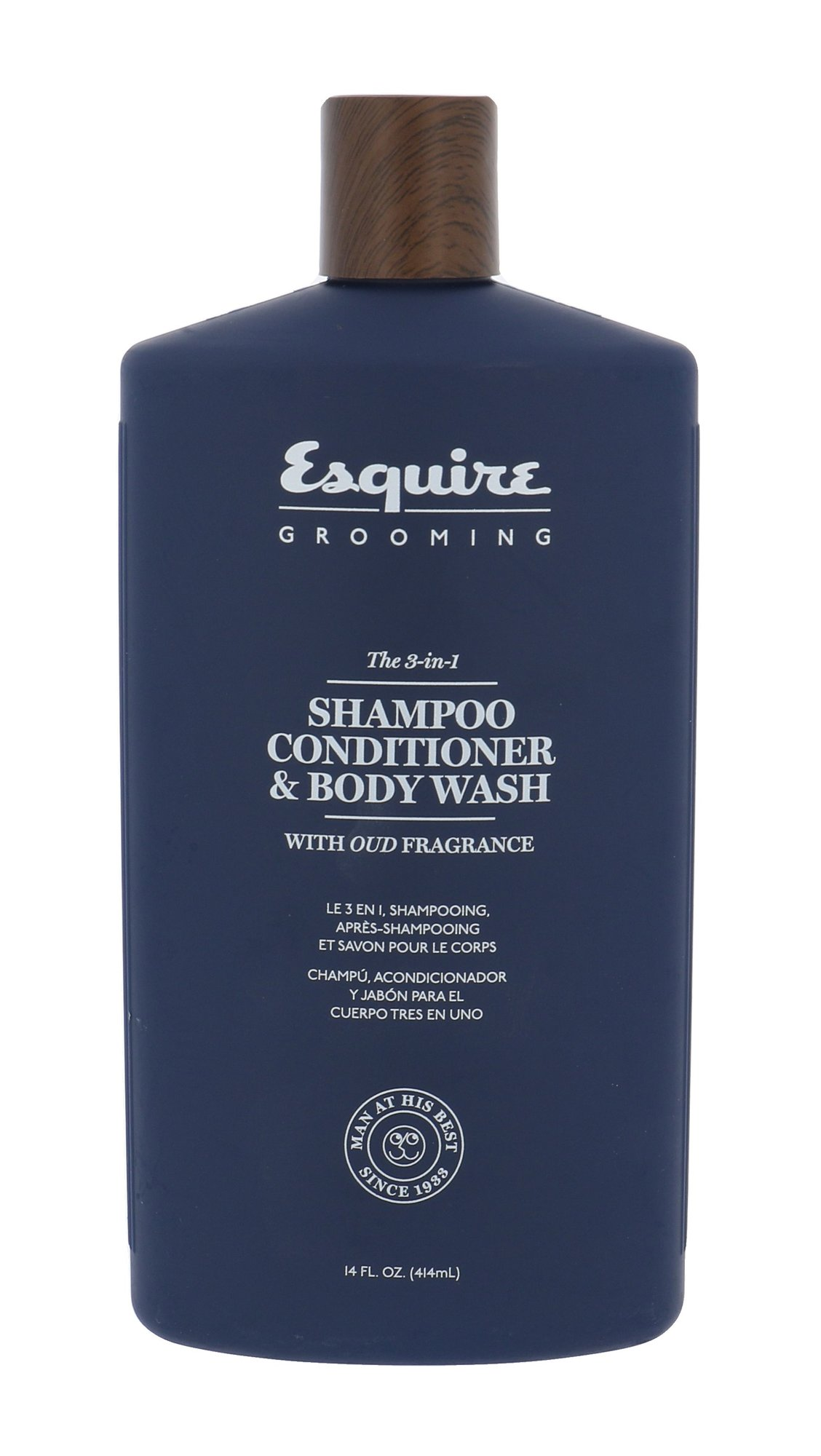 Farouk Systems Esquire Grooming The 3-In-1 Shampoo Cosmetic 414ml