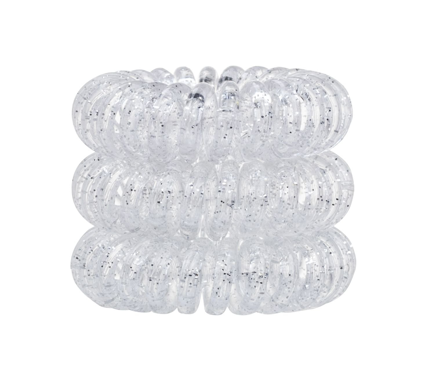Invisibobble Hair Ring Cosmetic 3pcs Sparkling Clear