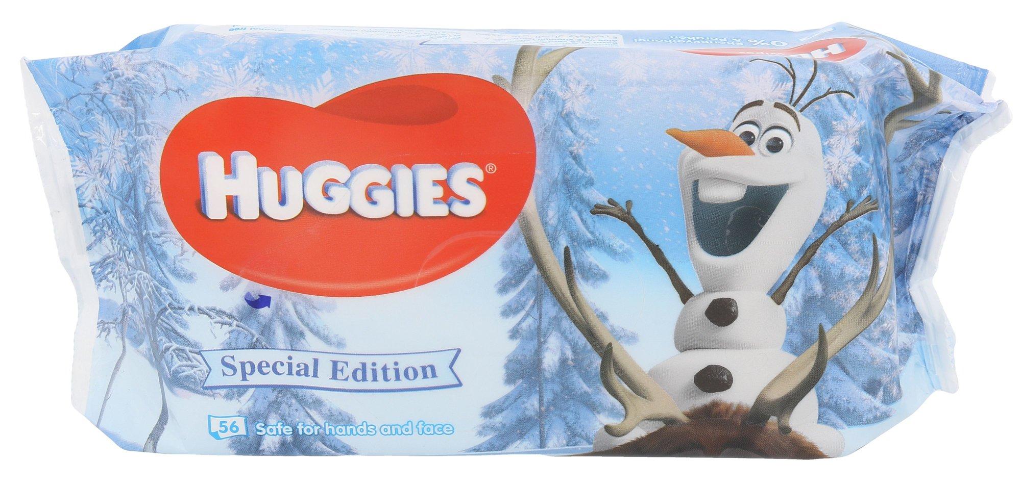 Huggies Baby Wipes Frozen Olaf Cosmetic 56ks