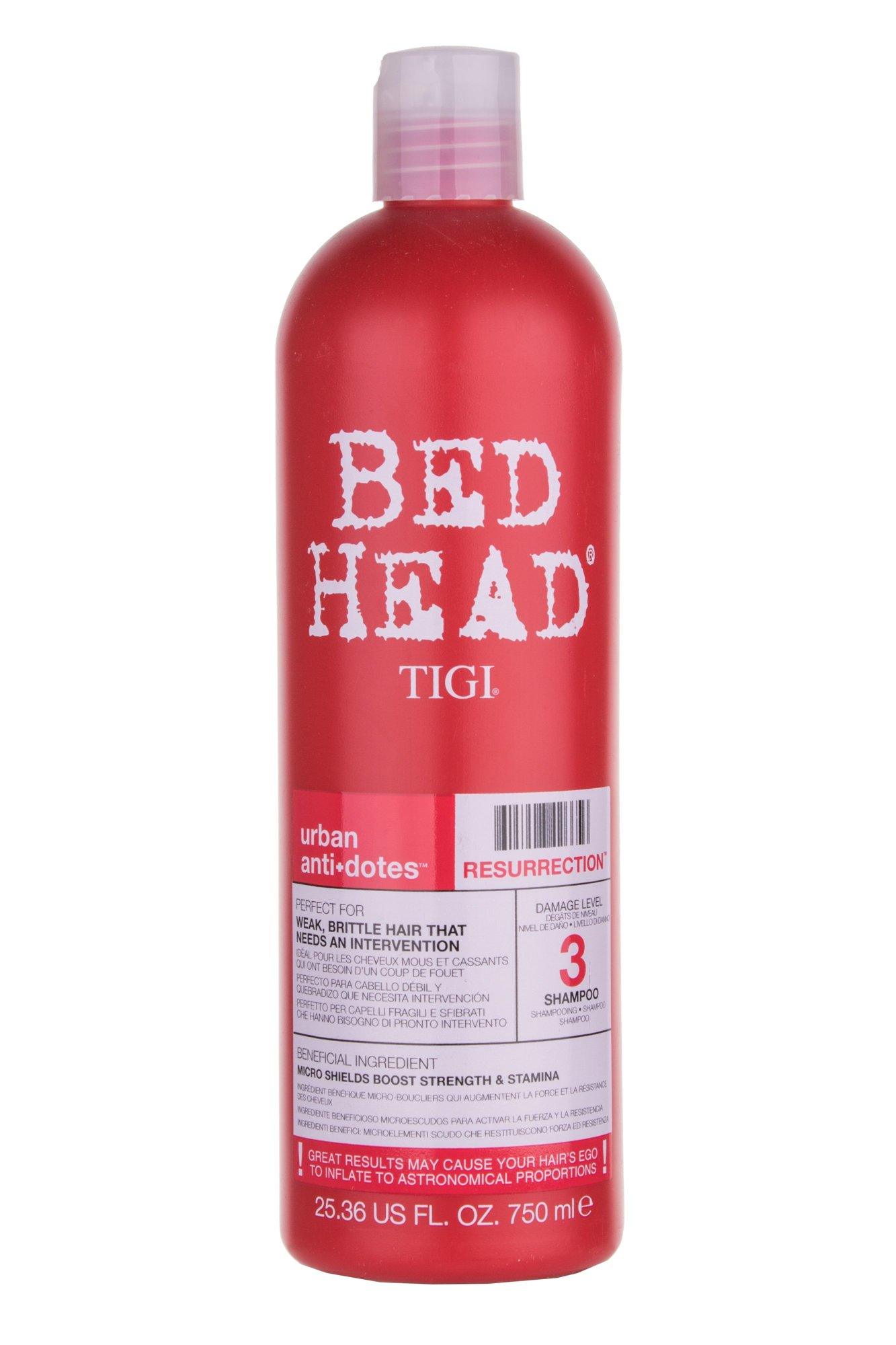 Tigi Bed Head Resurrection Cosmetic 750ml