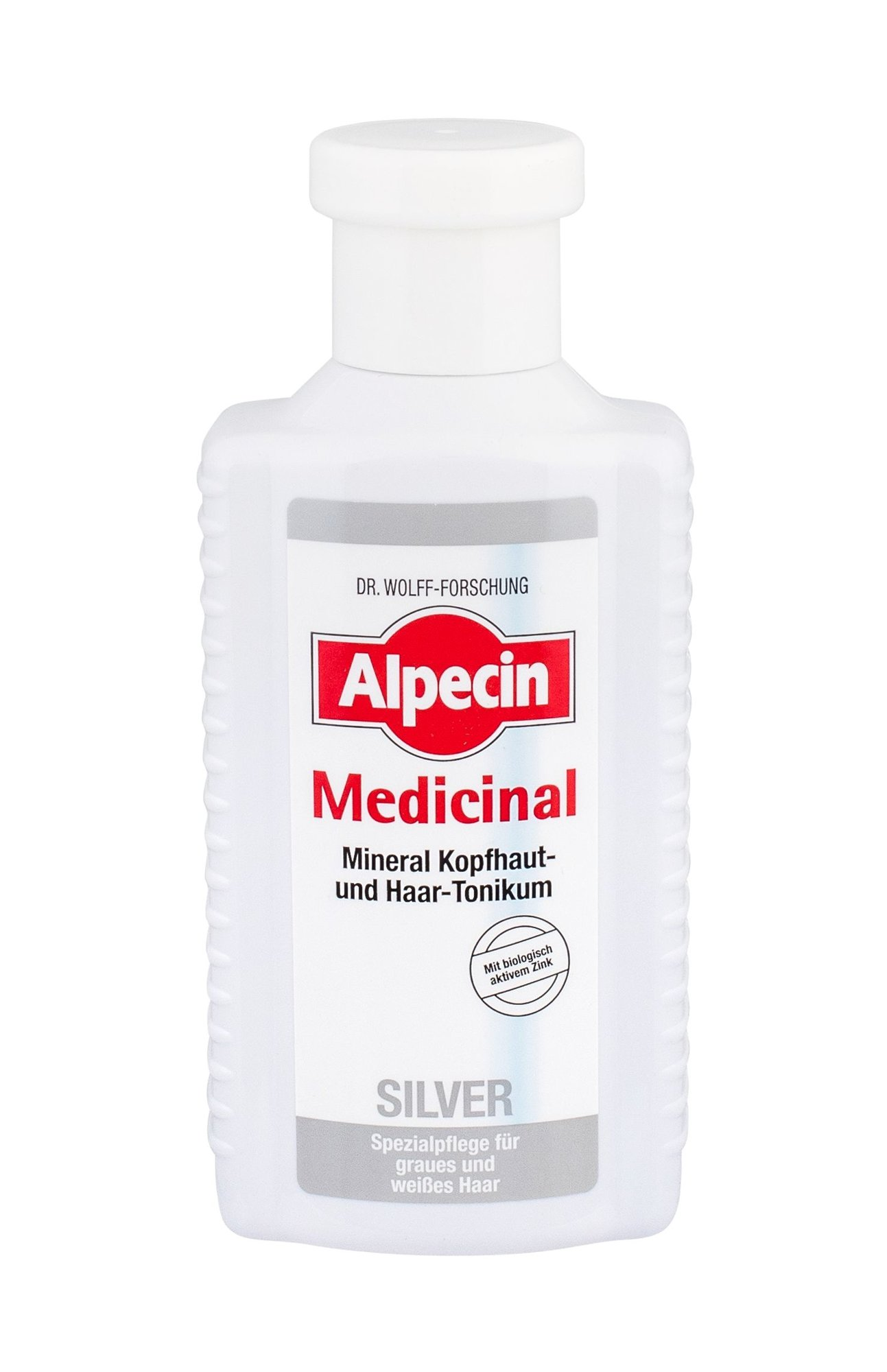 Alpecin Medicinal Silver Cosmetic 200ml  Mineral Scalp & Hair Tonic