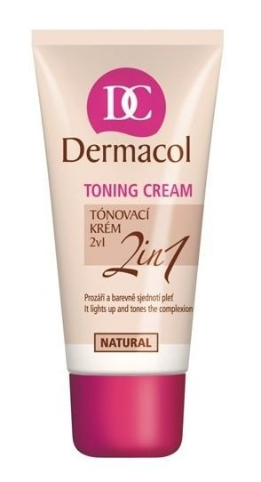 Dermacol Toning Cream Cosmetic 30ml 04 Natural