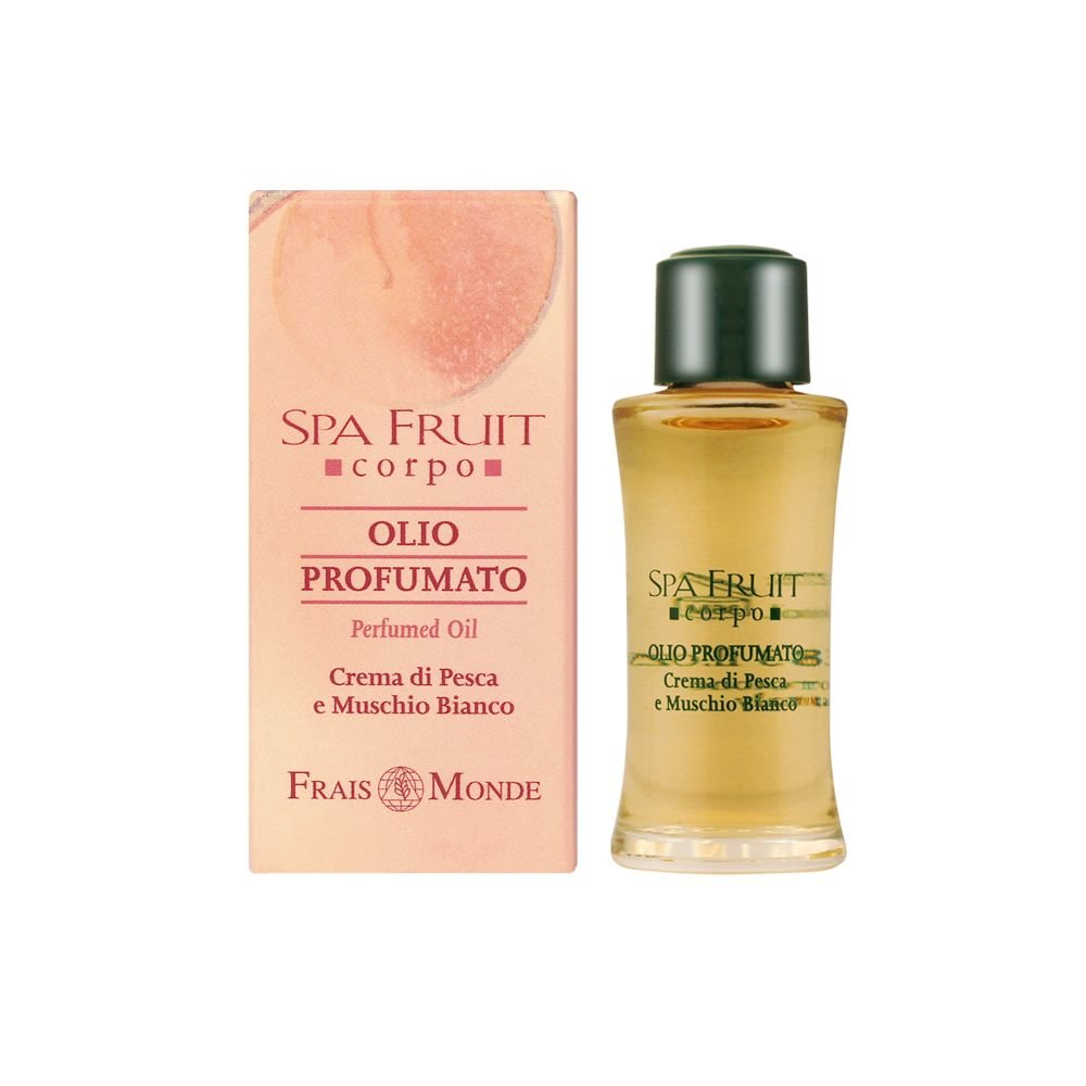 Frais Monde Spa Fruit Peach And White Musk Perfumed oil 10ml