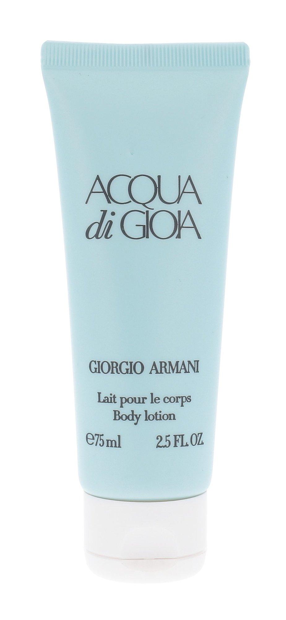 Kūno kremai ir kūno losijonai Giorgio Armani Acqua di Gioia
