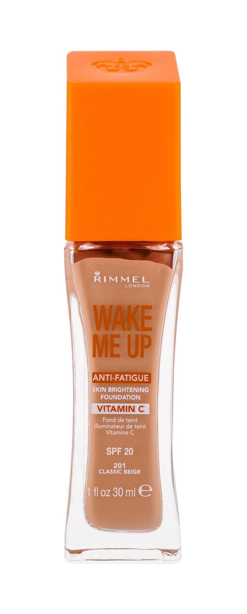 Rimmel London Wake Me Up Cosmetic 30ml 201 Classic Beige