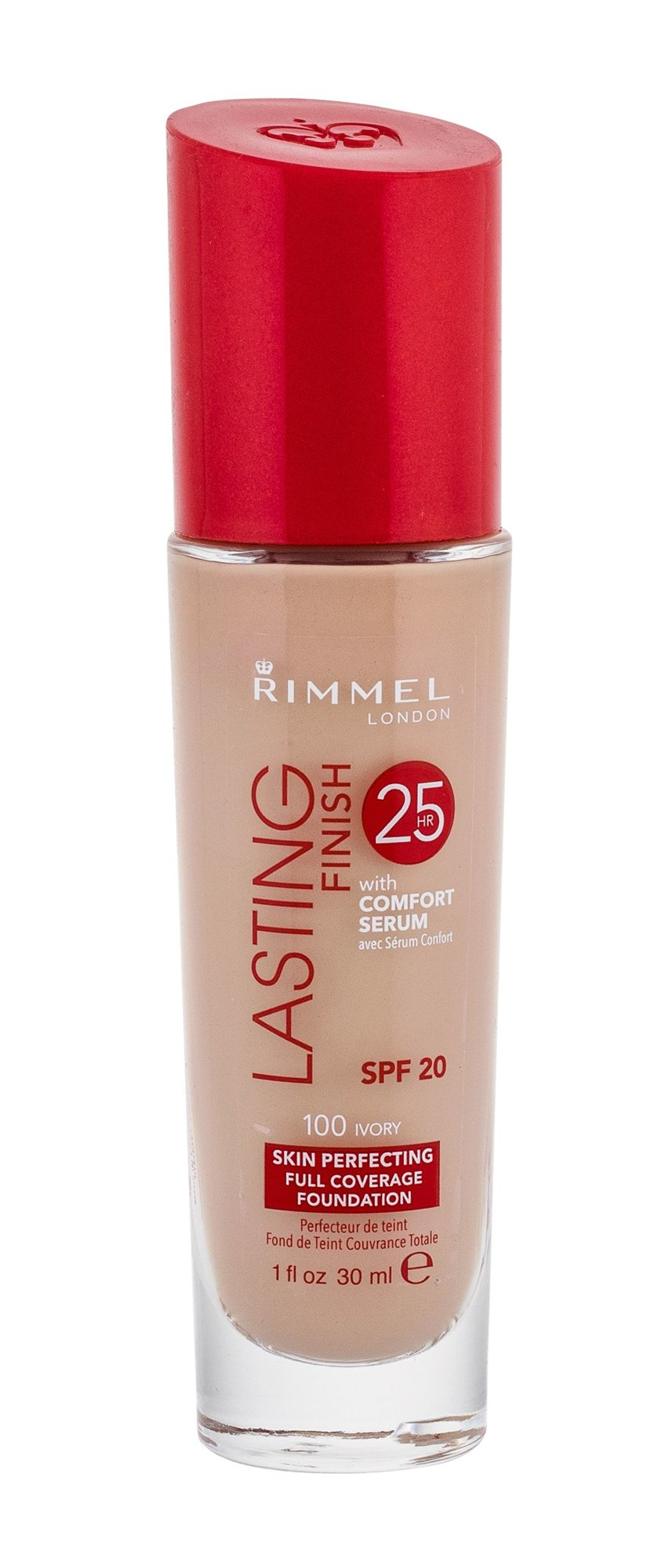 Rimmel London Lasting Finish Cosmetic 30ml 100 Ivory