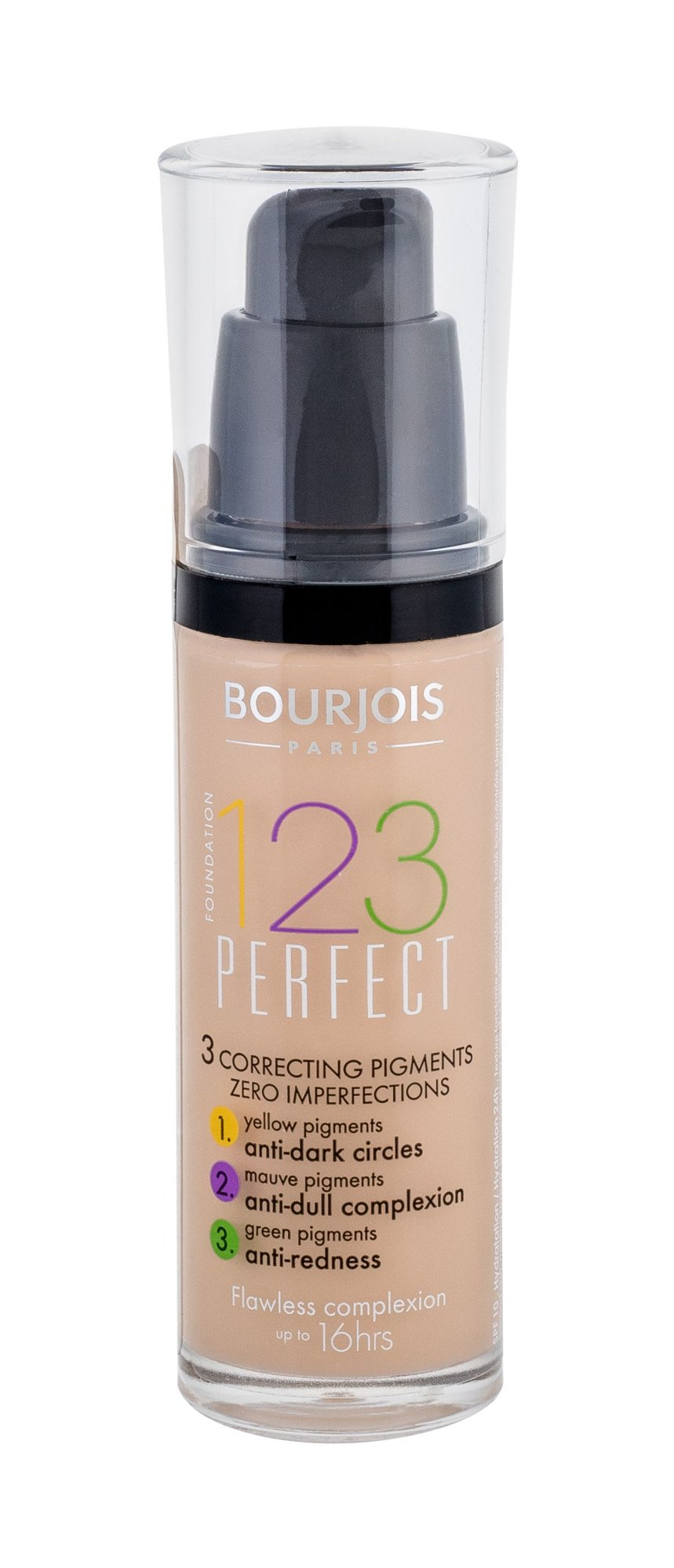 BOURJOIS Paris 123 Perfect Cosmetic 30ml 51 Light Vanilla