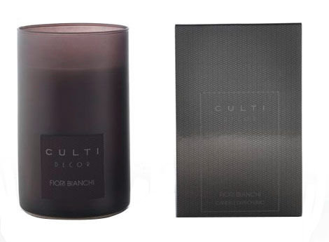 Culti Decor Fiori Bianchi scented candle 190ml