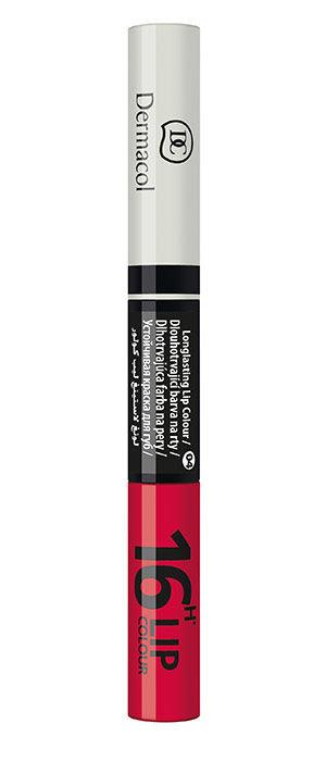 Priemonė lūpoms Dermacol 16H Lip Colour