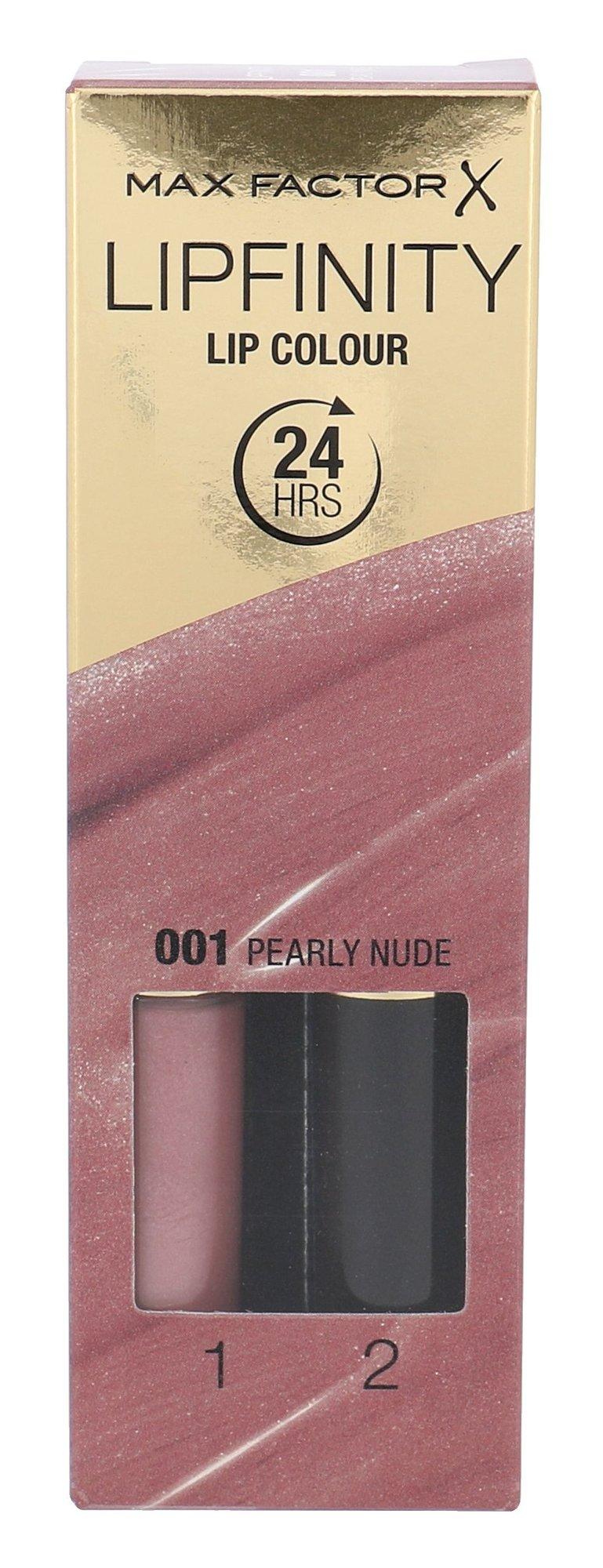 Max Factor Lipfinity Cosmetic 4,2ml 001 Pearly Nude