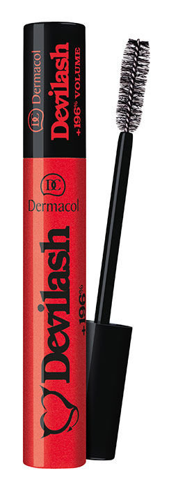 Dermacol Devilash +196% Volume Mascara Cosmetic 12ml Black