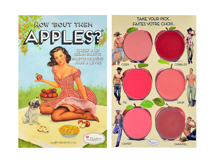 TheBalm How Bout Them Apples? Lip & Cheek Cream Palette Cosmetic 20ml