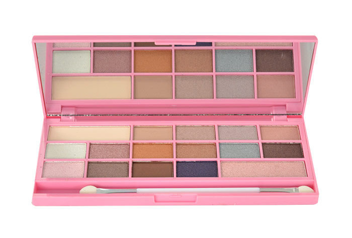 Makeup Revolution London I Love Makeup I Heart Chocolate Pink Fizz Palette Cosmetic 22g