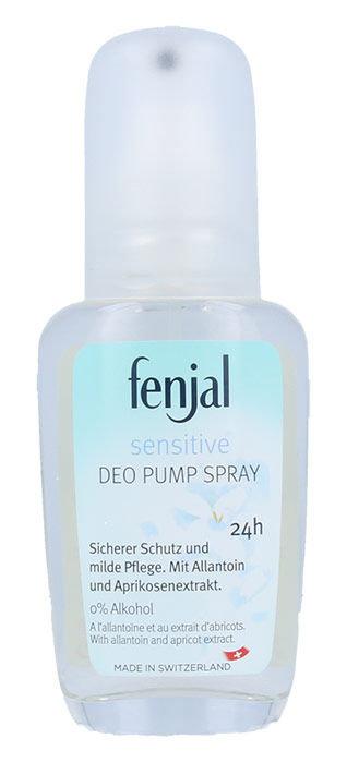 Fenjal Sensitive Deo Pump Spray 24H Cosmetic 75ml