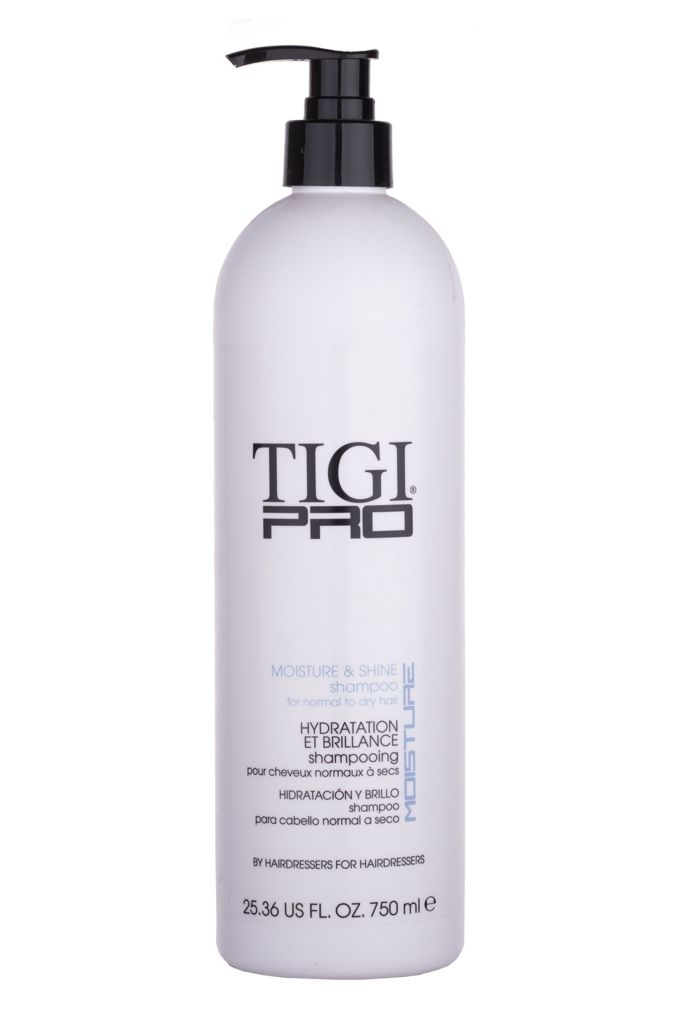 Tigi Pro Moisture And Shine Shampoo Cosmetic 750ml