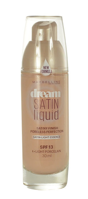 Maybelline Dream Satin Cosmetic 30ml 4 Light Porcelain