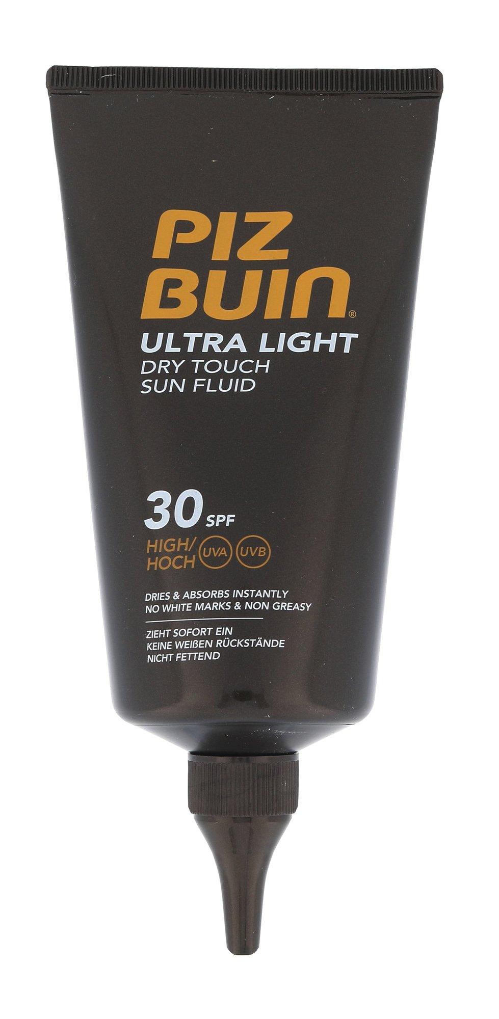 Piz Buin Ultra Light Dry Touch Sun Fluid SPF30 Cosmetic 150ml