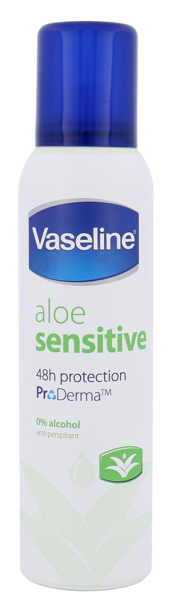 Vaseline Aloe Sensitive Anti-Perspirant 48h Deospray Cosmetic 150ml
