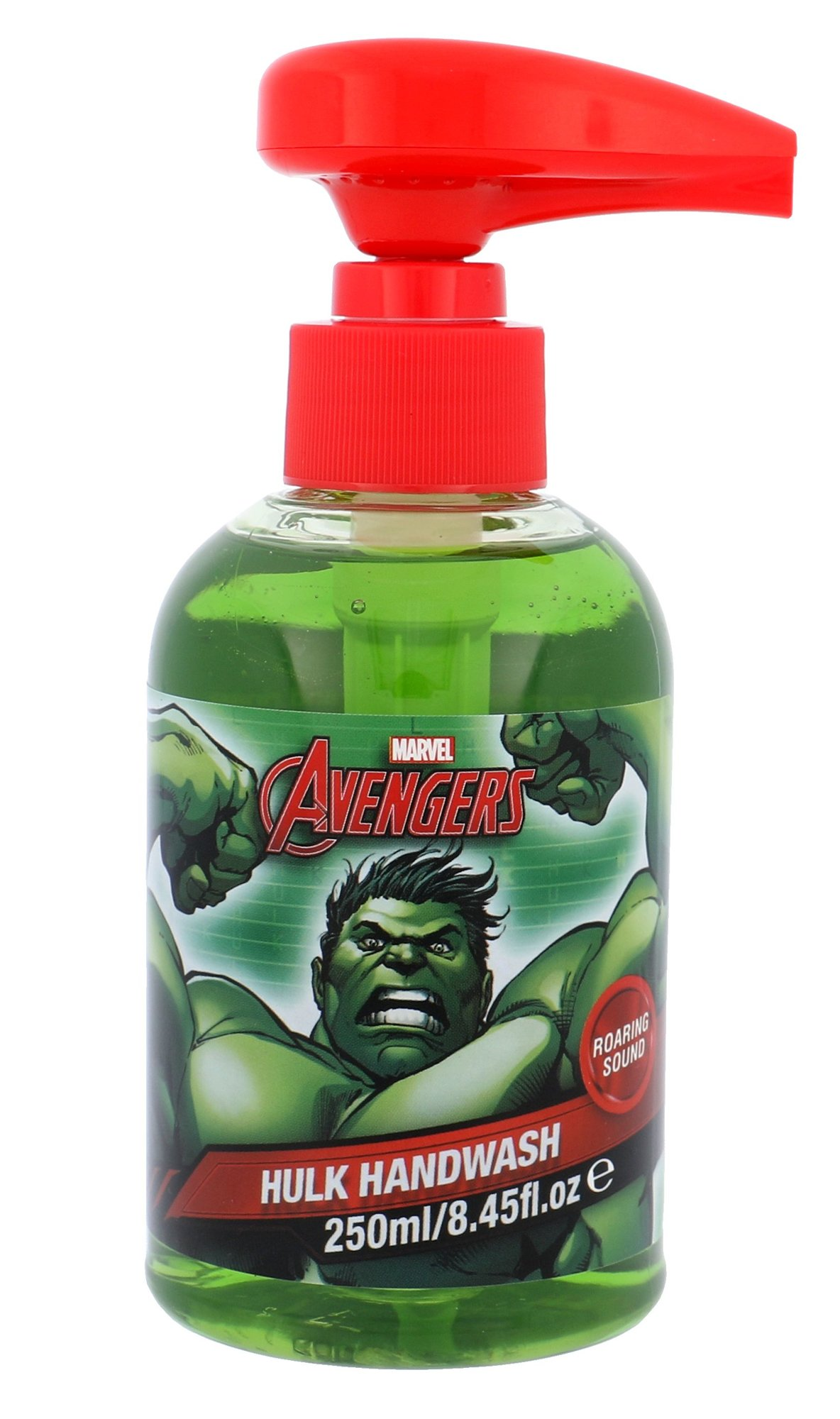 Marvel Avengers Hulk Hand Wash With Roaring Sound Cosmetic 250ml