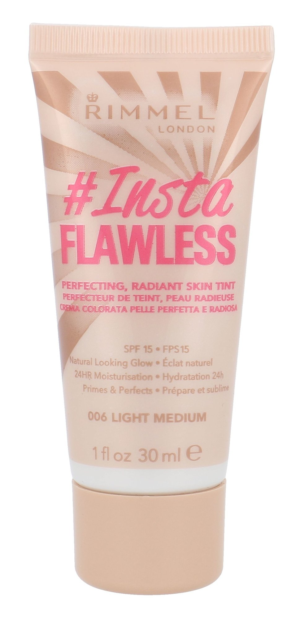 Rimmel London Instaflawless Primer SPF15 Cosmetic 30ml 006 Light Medium