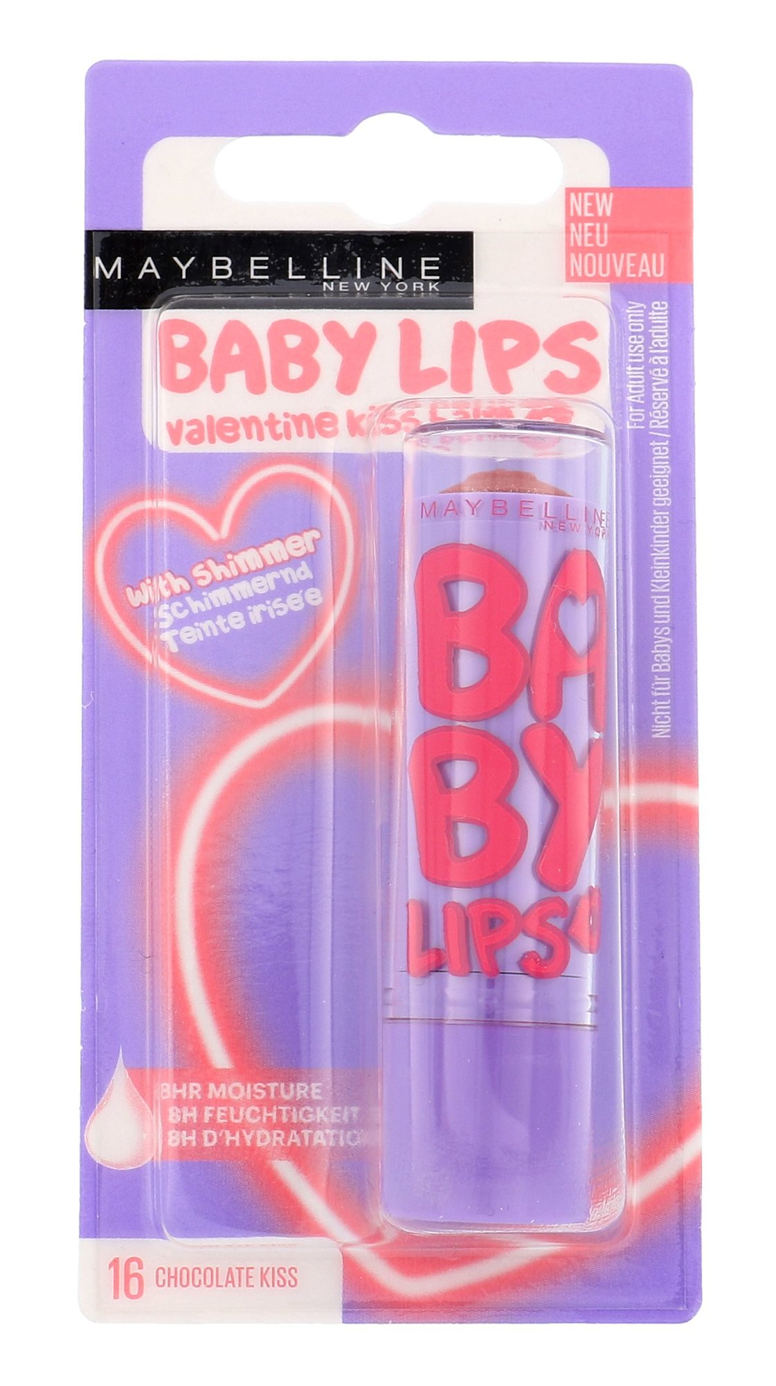 Maybelline Baby Lips Cosmetic 4,4ml 16 Chocolate Kiss