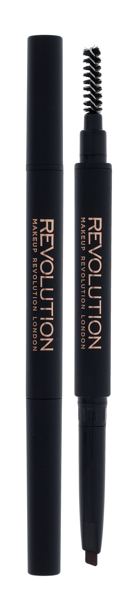 Makeup Revolution London Duo Brow Definer Cosmetic 0,15ml Light Brown
