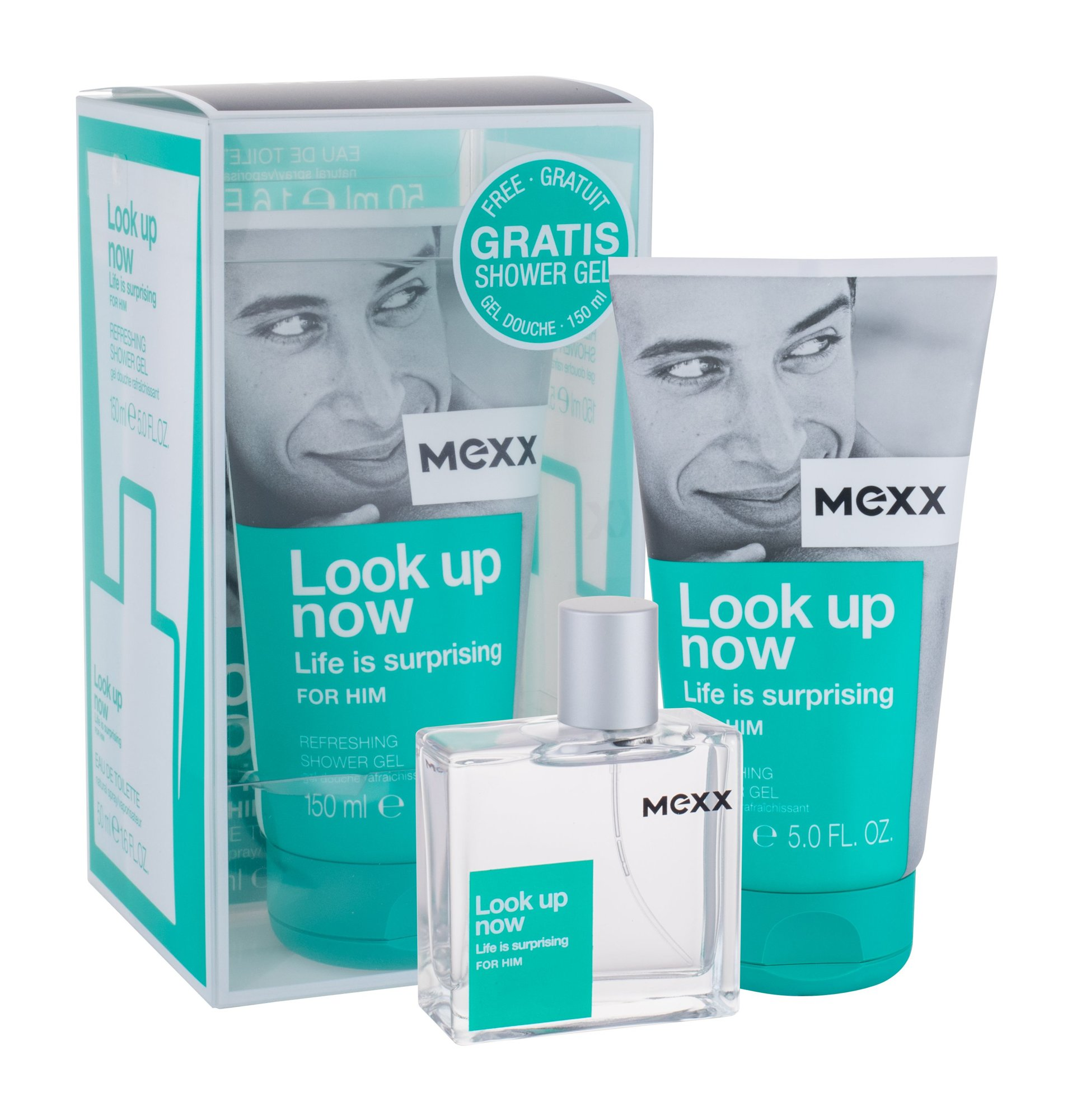 Mexx Look up Now Life Is Surprising For Him EDT 50ml