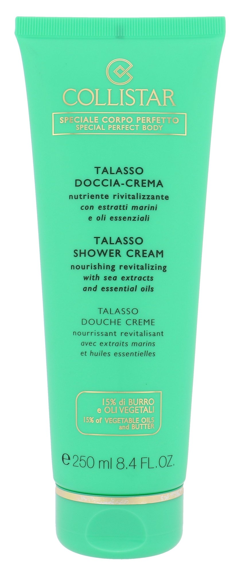 Collistar Talasso Shower Cream Cosmetic 250ml