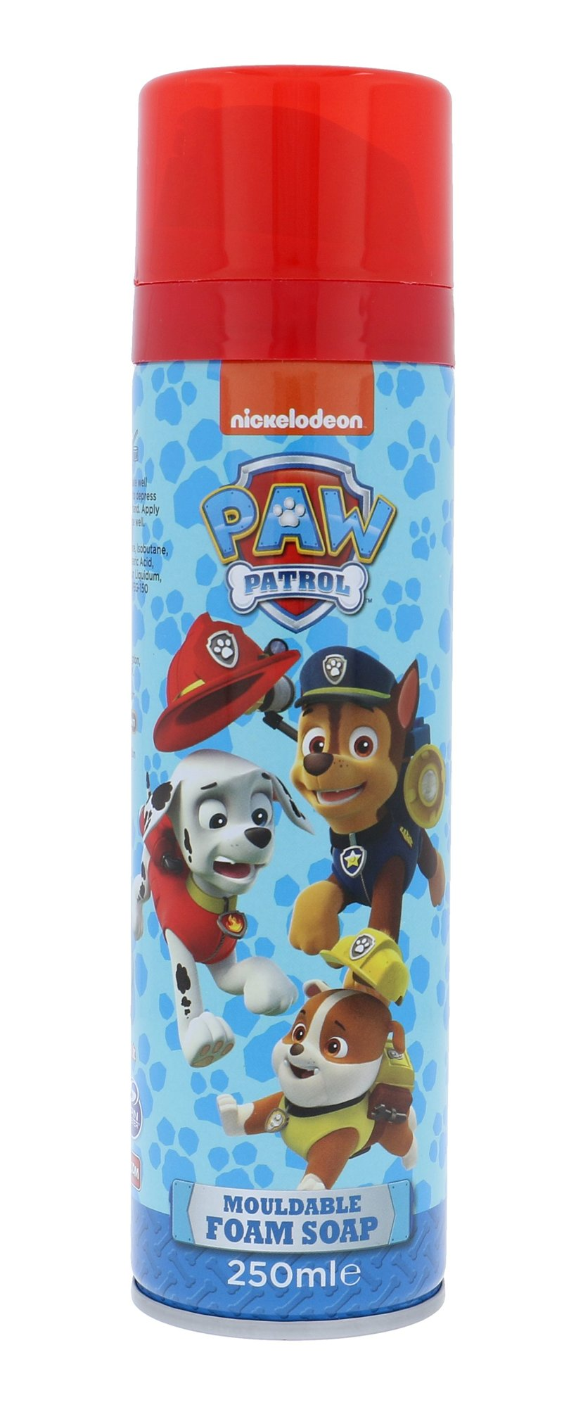 Nickelodeon Paw Patrol Cosmetic 250ml  Mouldable Foam Soap