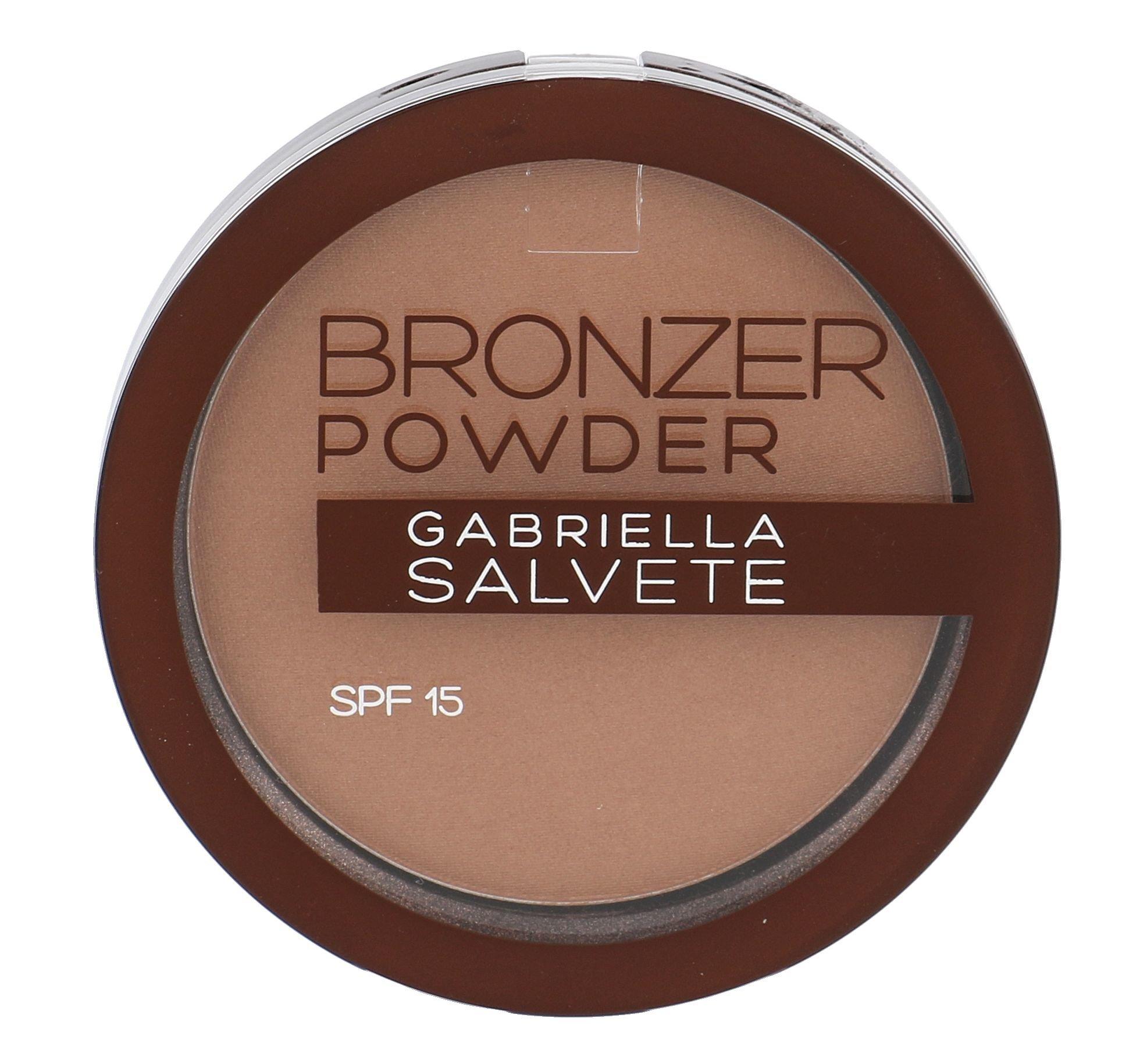 Gabriella Salvete Bronzer Powder SPF15 Cosmetic 8g 02