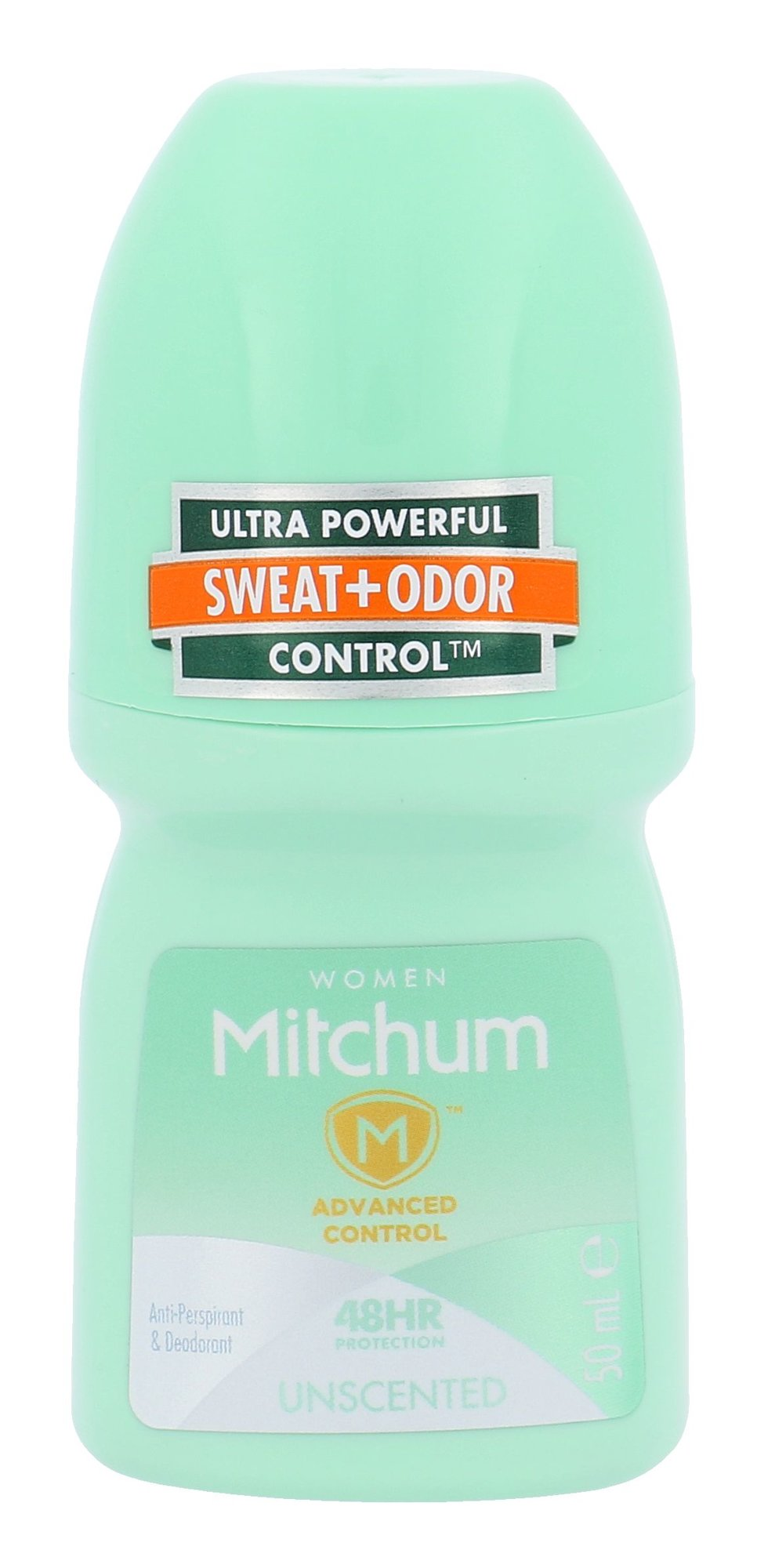 Mitchum Unscented Anti-Perspirant Deo Roll-on 48HR Cosmetic 50ml