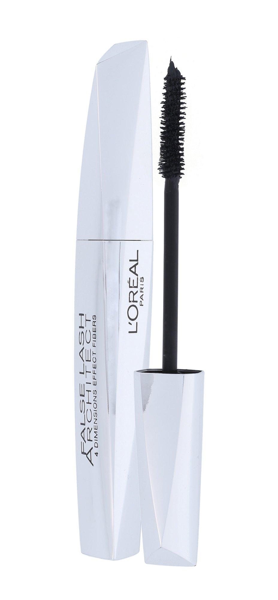 L´Oreal Paris Lash Architect 4D Mascara Black Cosmetic 10,5ml Black Black
