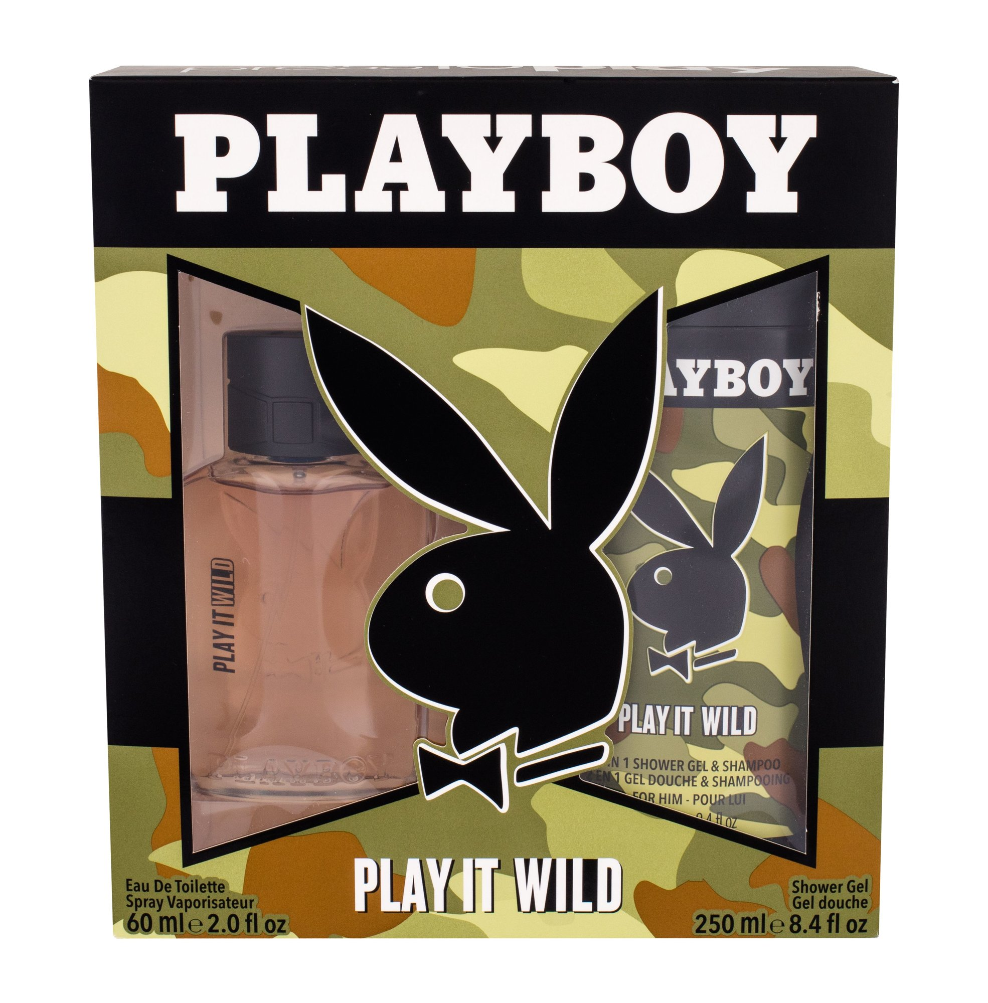 Playboy Play It Wild For Him EDT 60ml