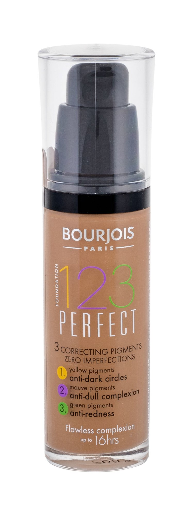 BOURJOIS Paris 123 Perfect Cosmetic 30ml 58 Dark Bronze