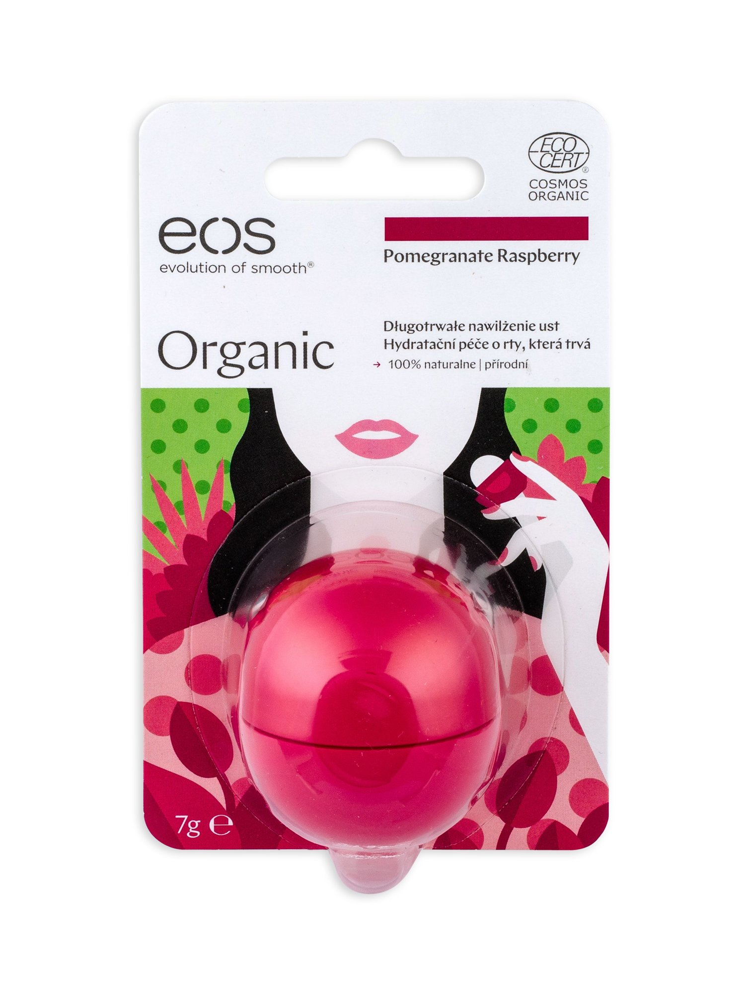 EOS Organic Cosmetic 7ml Pomegranate Raspberry