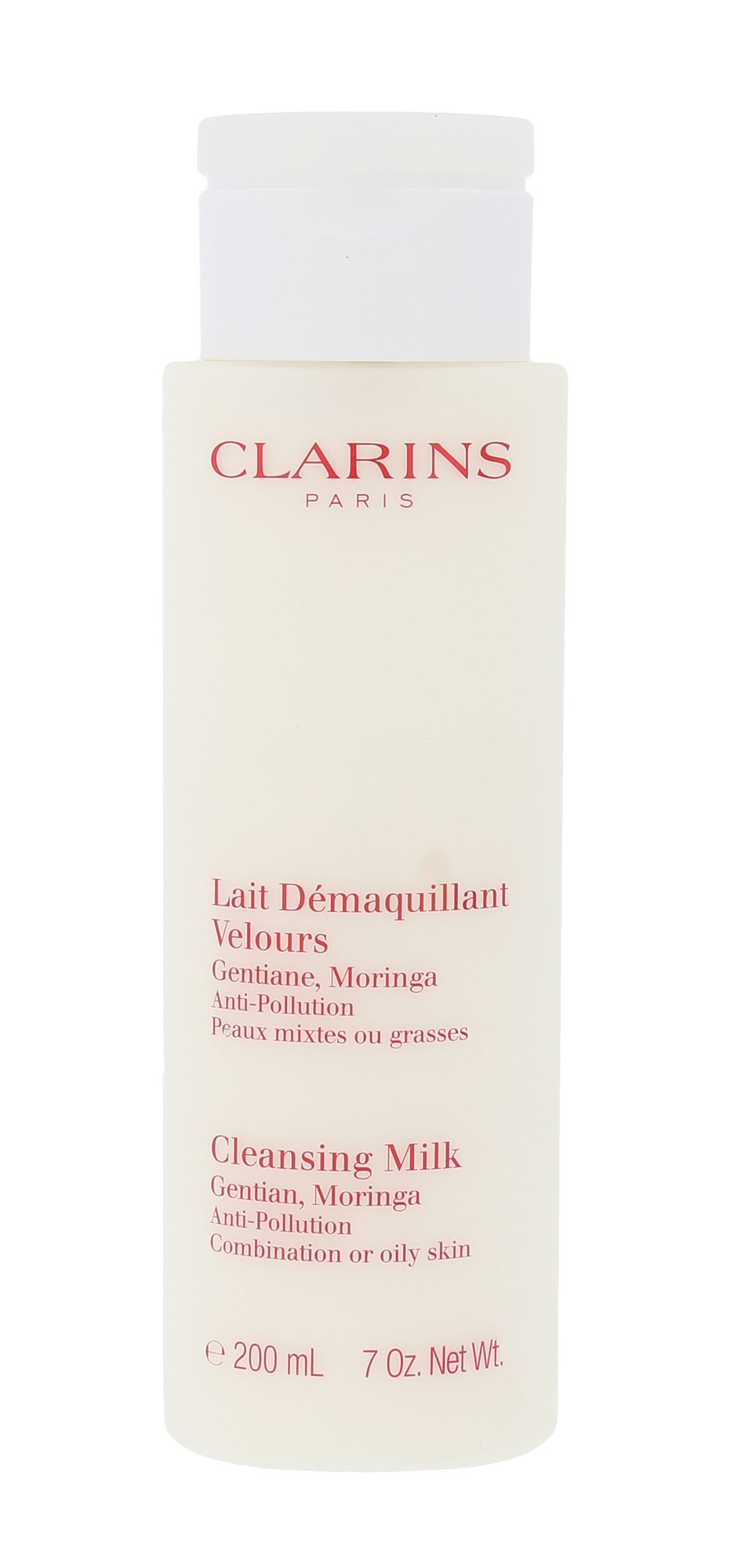 Clarins Cleansing Milk With Gentian Cosmetic 200ml