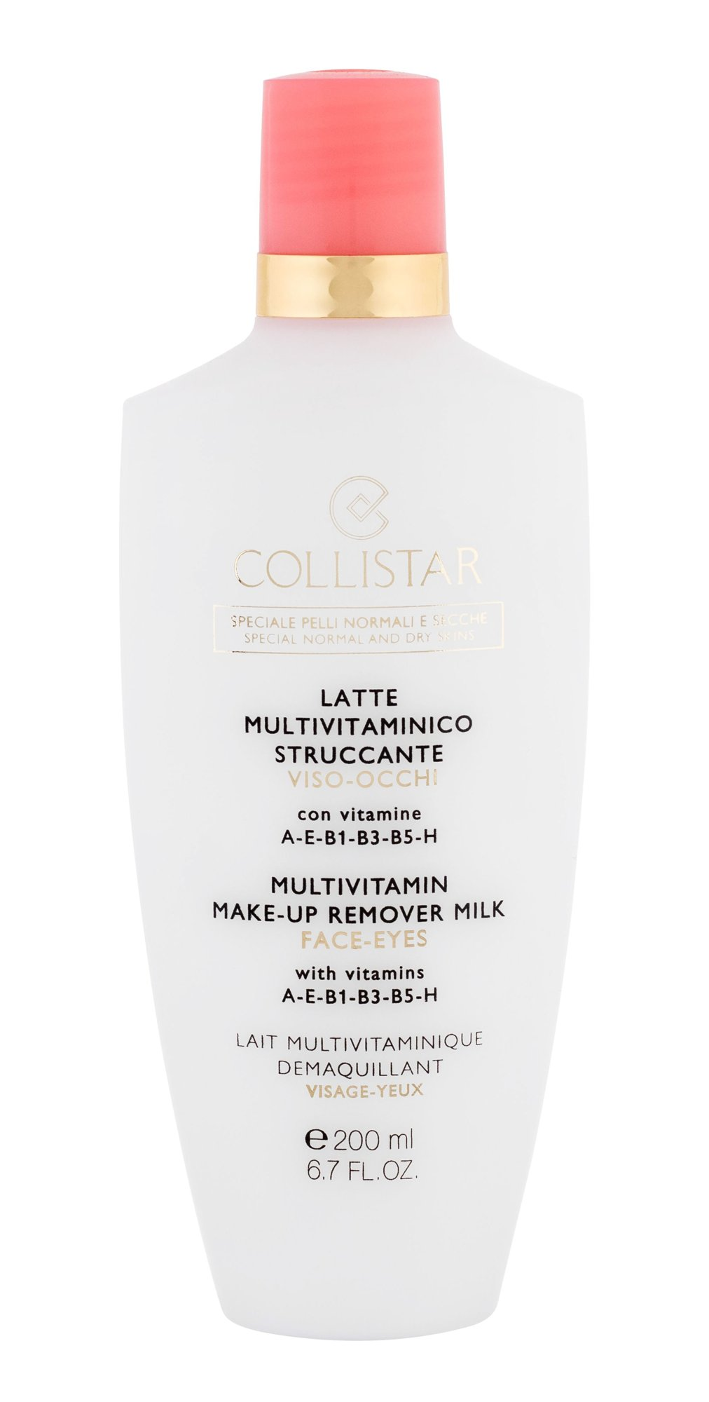 Collistar Multivitamin Make-Up Remover Milk Cosmetic 200ml