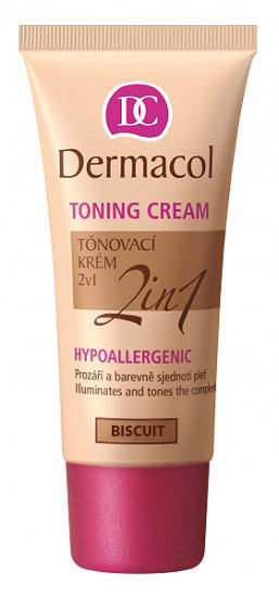 Dermacol Toning Cream Cosmetic 30ml Biscuit