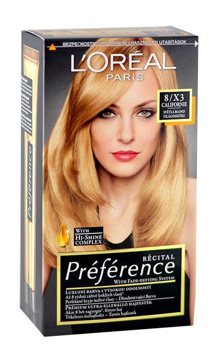 L´Oréal Paris Préférence Cosmetic 174ml 8-X3 Californie