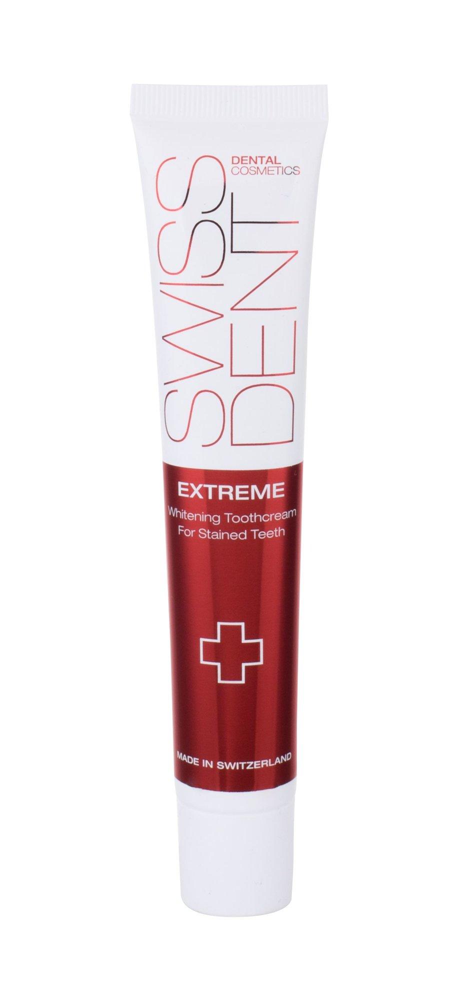 Dantų priežiūros priemonė Swissdent Extreme
