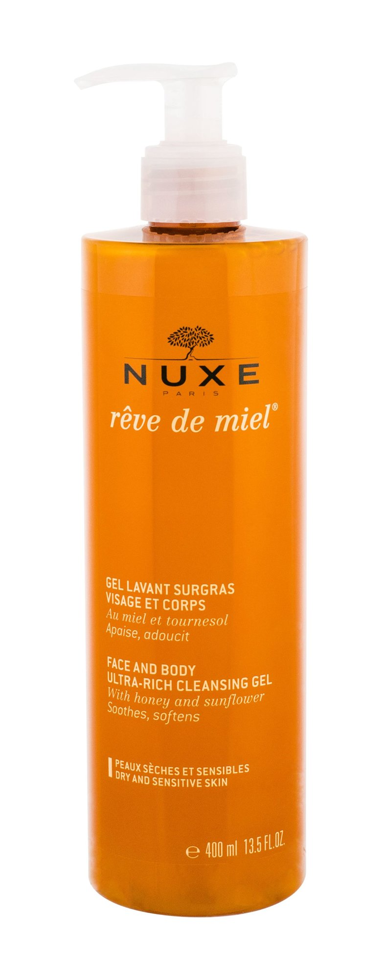 NUXE Reve de Miel Cosmetic 400ml