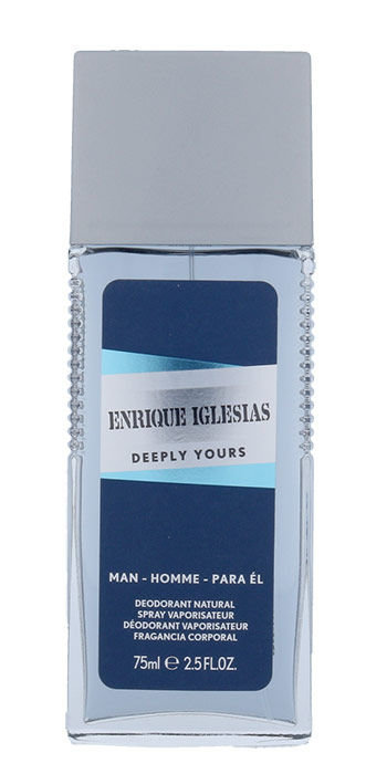 Enrique Iglesias Deeply Yours Man Deodorant 75ml
