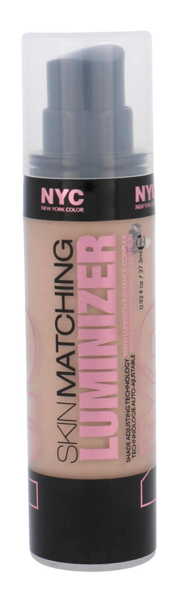 NYC New York Color Skin Matching Cosmetic 27,3ml 320 Medium To Deep Luminizer