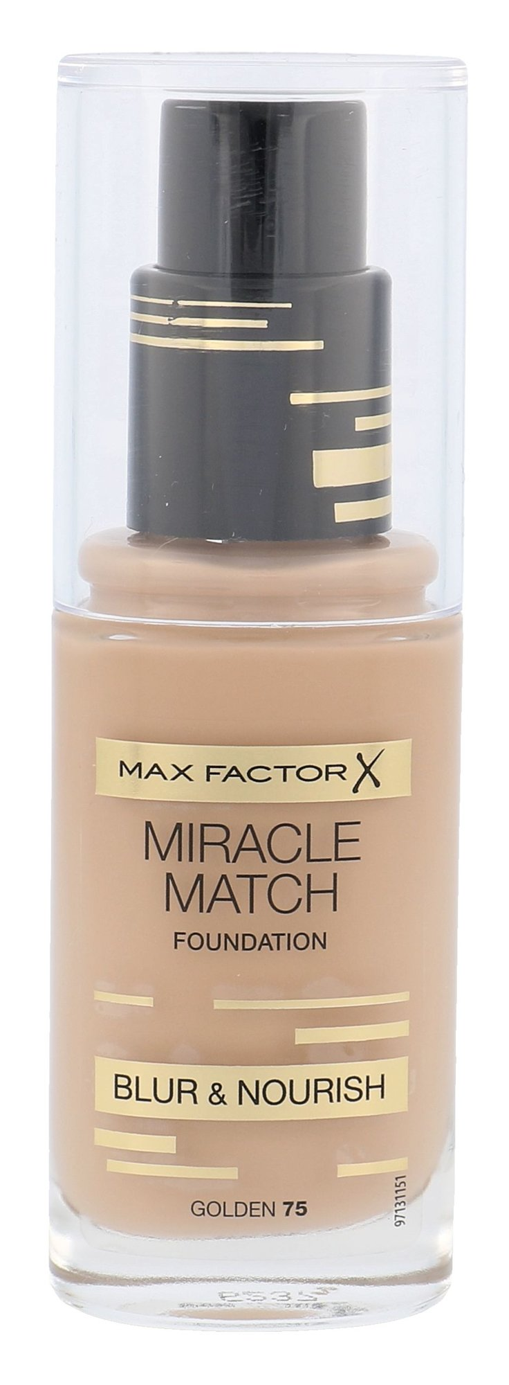 Max Factor Miracle Match Foundation Cosmetic 30ml 75 Golden