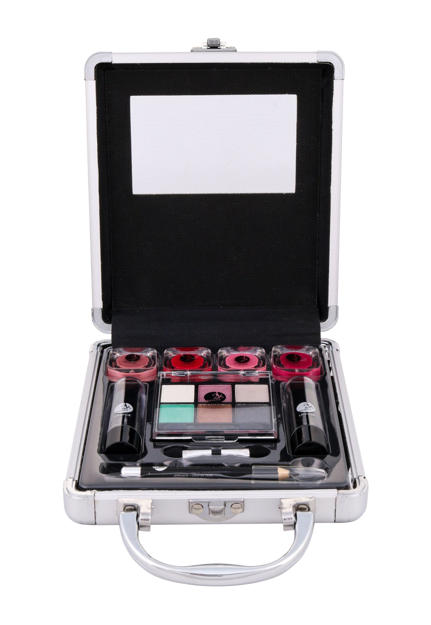 2K Beauty Basic Train Case Cosmetic 15,7ml