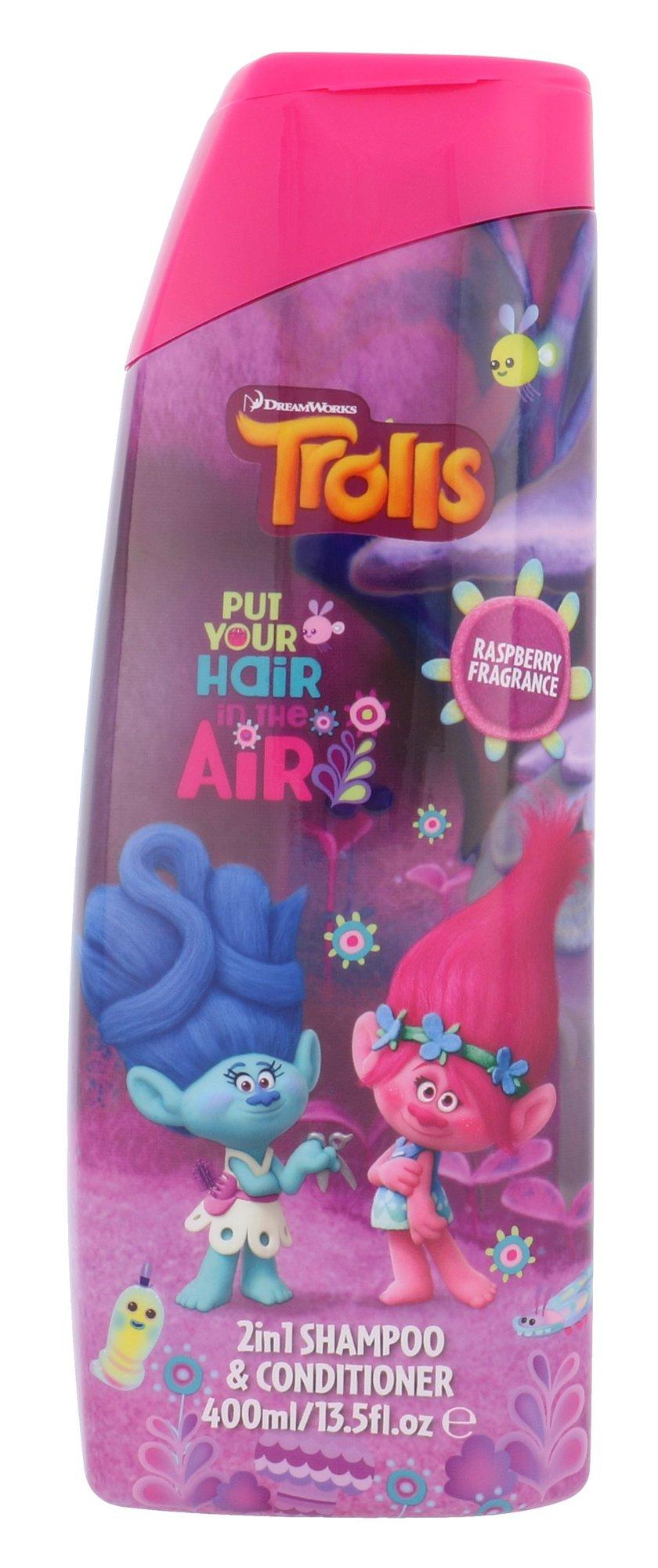 DreamWorks Trolls Cosmetic 400ml  2in1 Shampoo & Conditioner