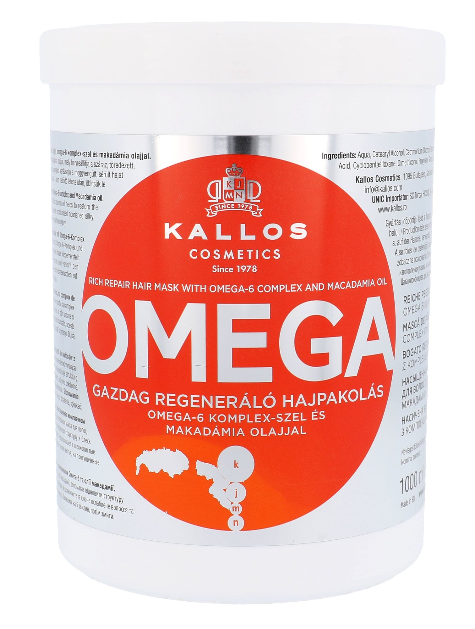 Kallos Cosmetics Omega Cosmetic 1000ml
