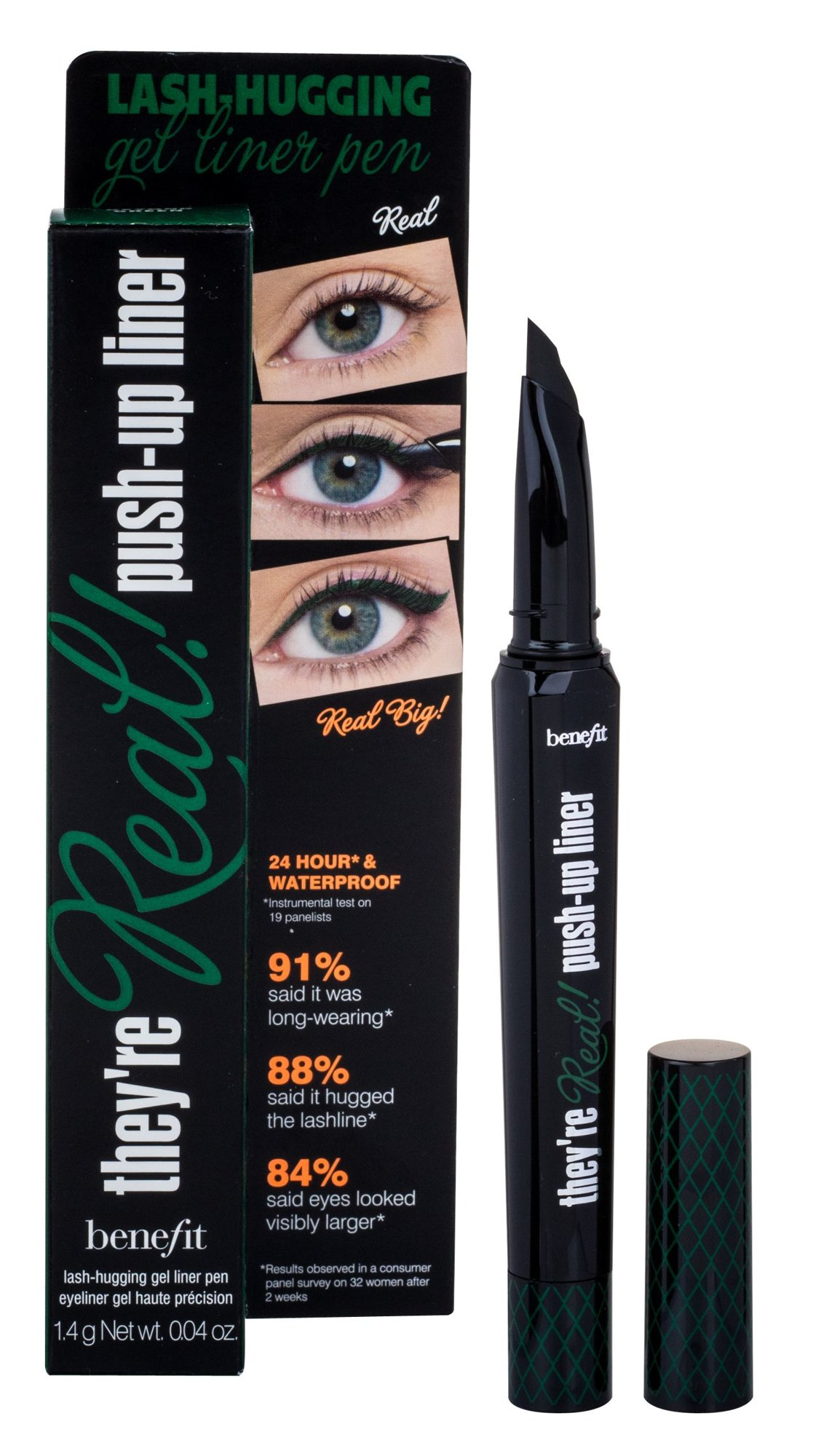 Benefit They´re Real! Cosmetic 1,3ml Green