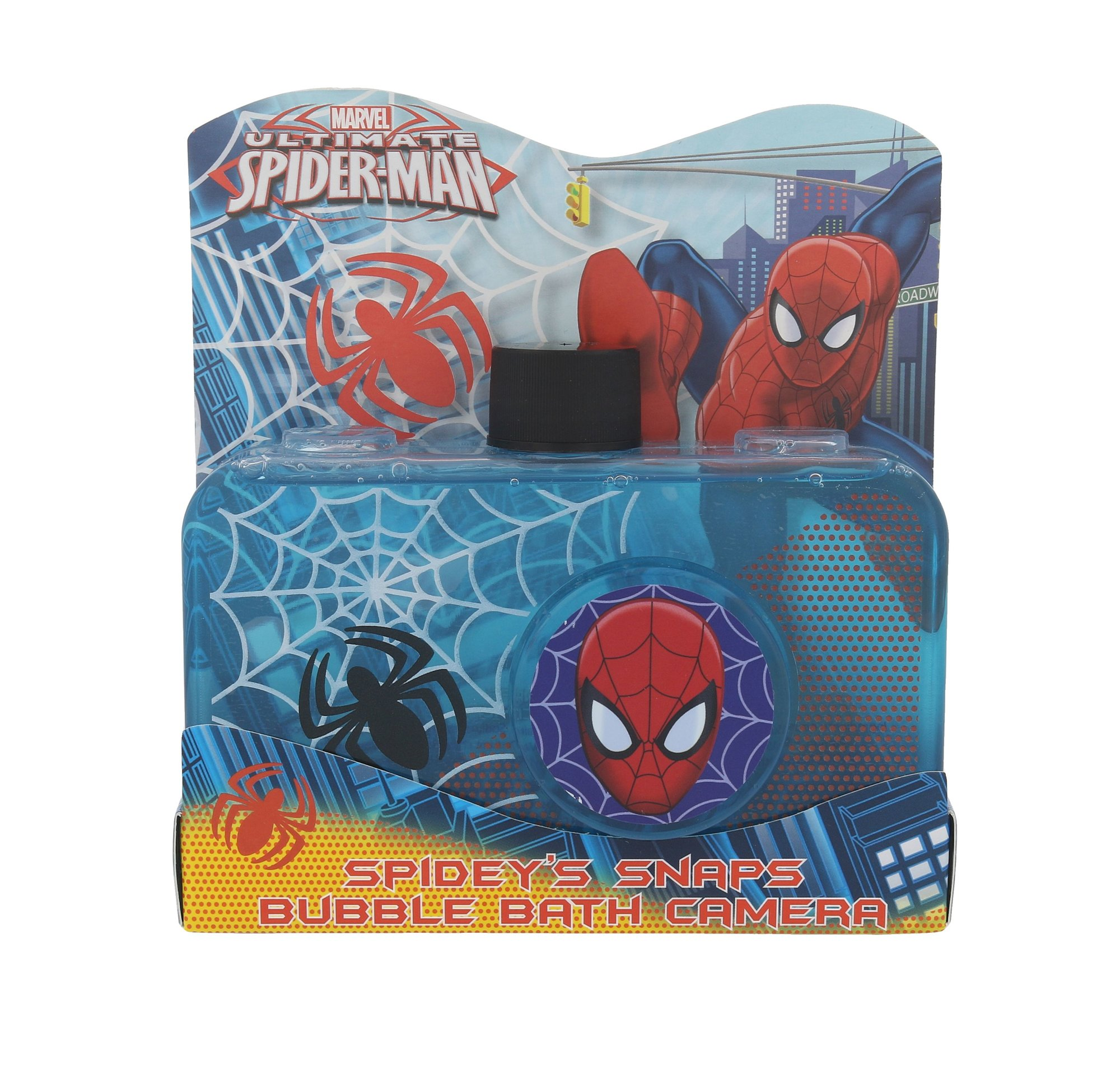 Marvel Spidey´s Snaps Bubble Bath Camera Cosmetic 300ml